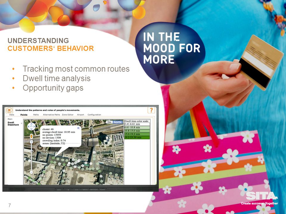 Tracking most common routes Dwell time analysis Opportunity gaps