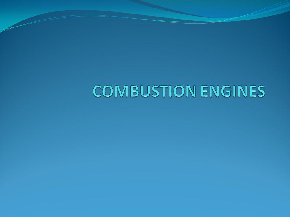 COMBUSTION ENGINES