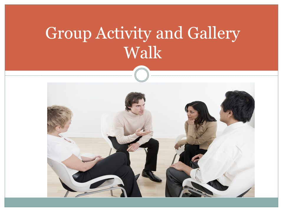 Group Activity and Gallery Walk