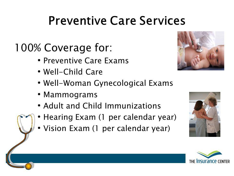 Preventive Care Services