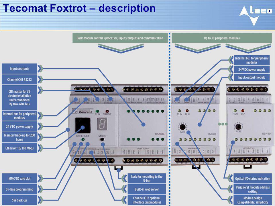 Tecomat Foxtrot – description