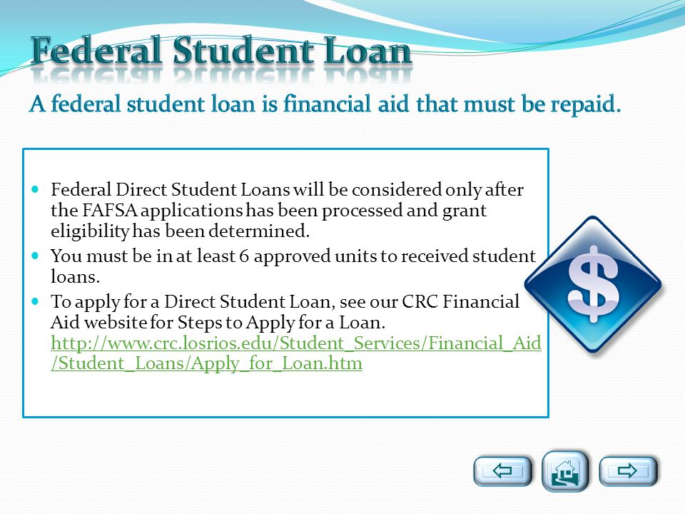 Federal Student Loan   