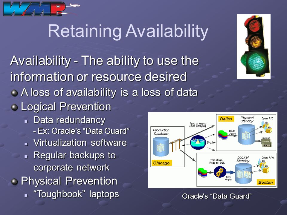 Retaining Availability