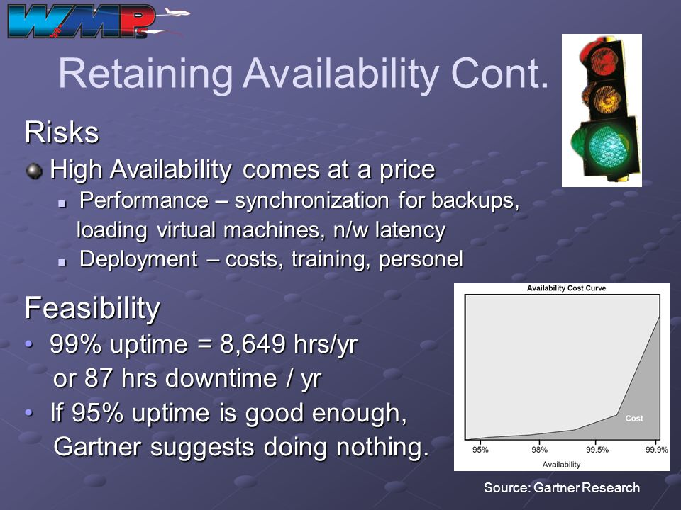 Retaining Availability Cont.