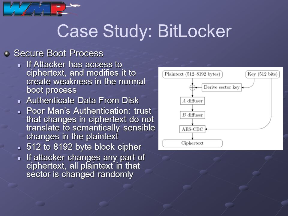 Case Study: BitLocker Secure Boot Process