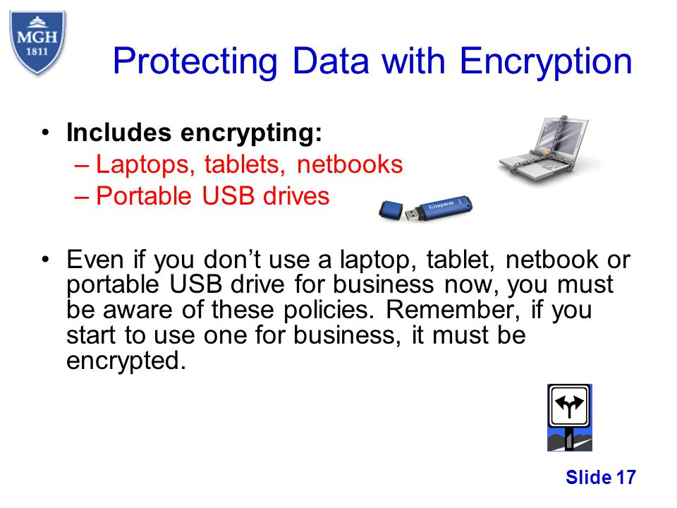 Protecting Data with Encryption