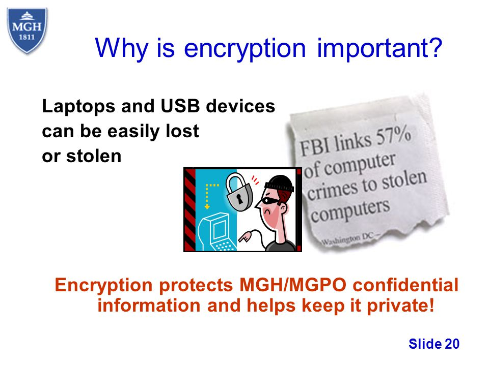Why is encryption important