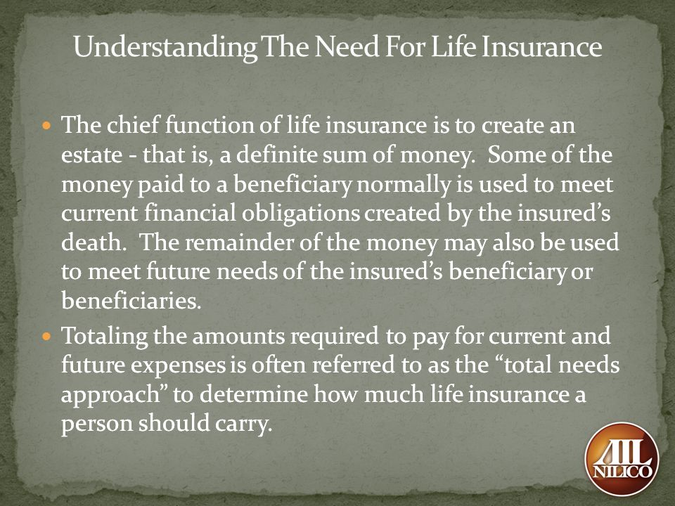 Understanding The Need For Life Insurance