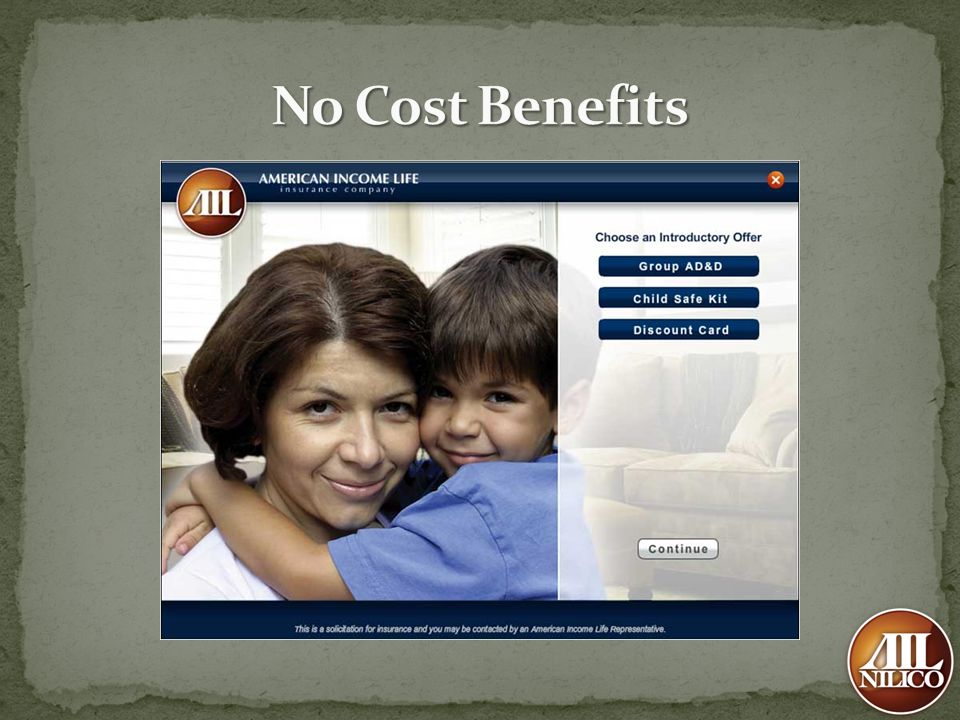 No Cost Benefits