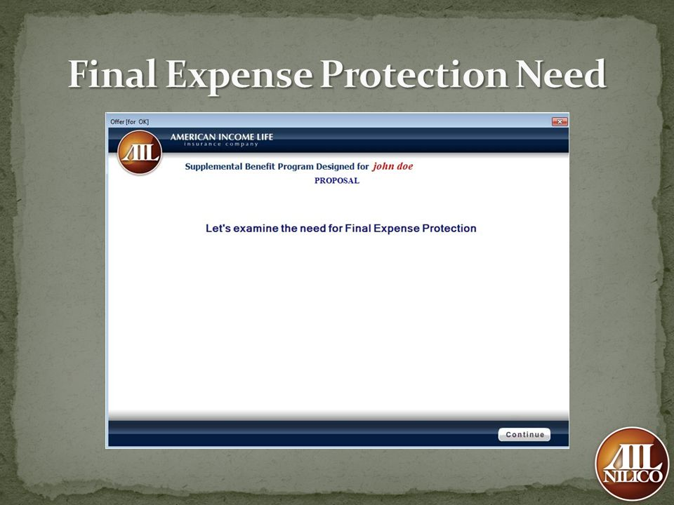 Final Expense Protection Need