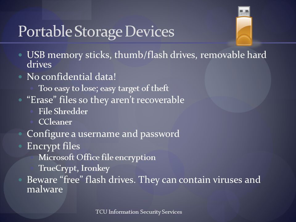 Portable Storage Devices