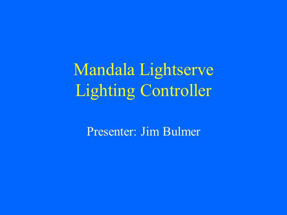 Mandala Lightserve Lighting Controller