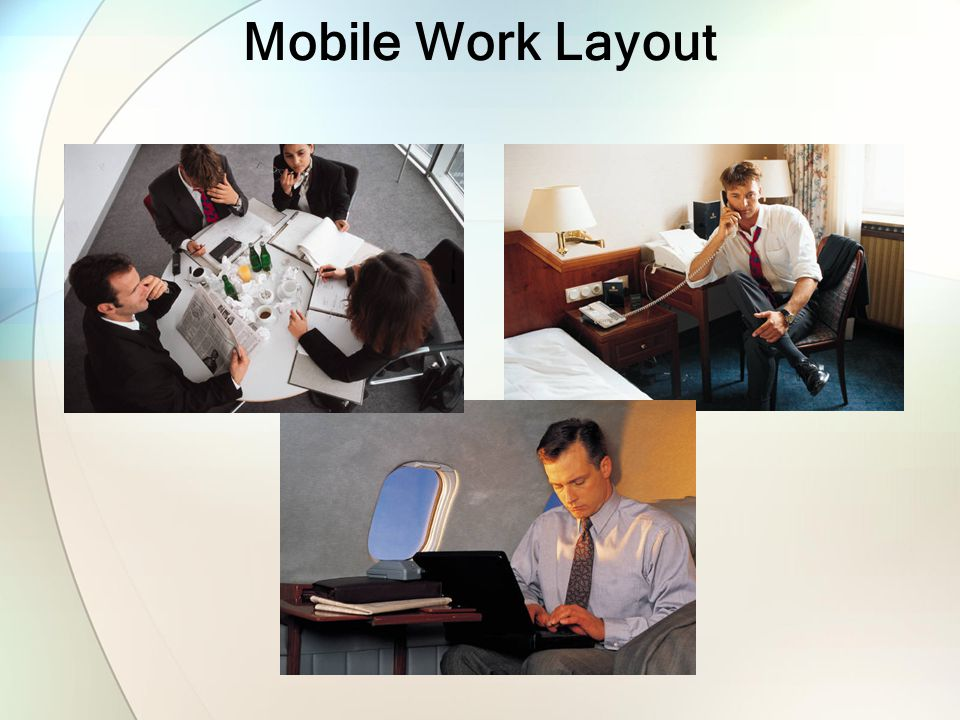 Mobile Work Layout