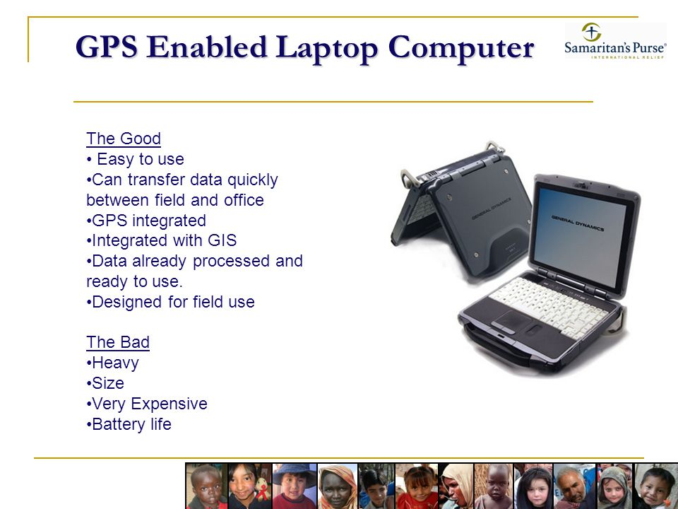 GPS Enabled Laptop Computer
