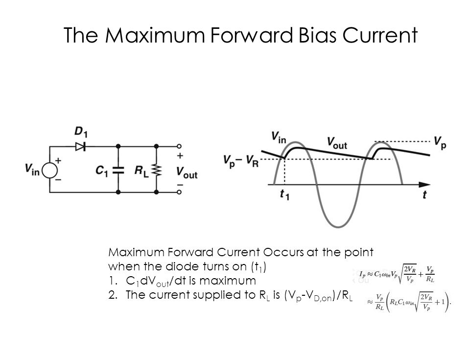 c03f35 The Maximum Forward Bias Current