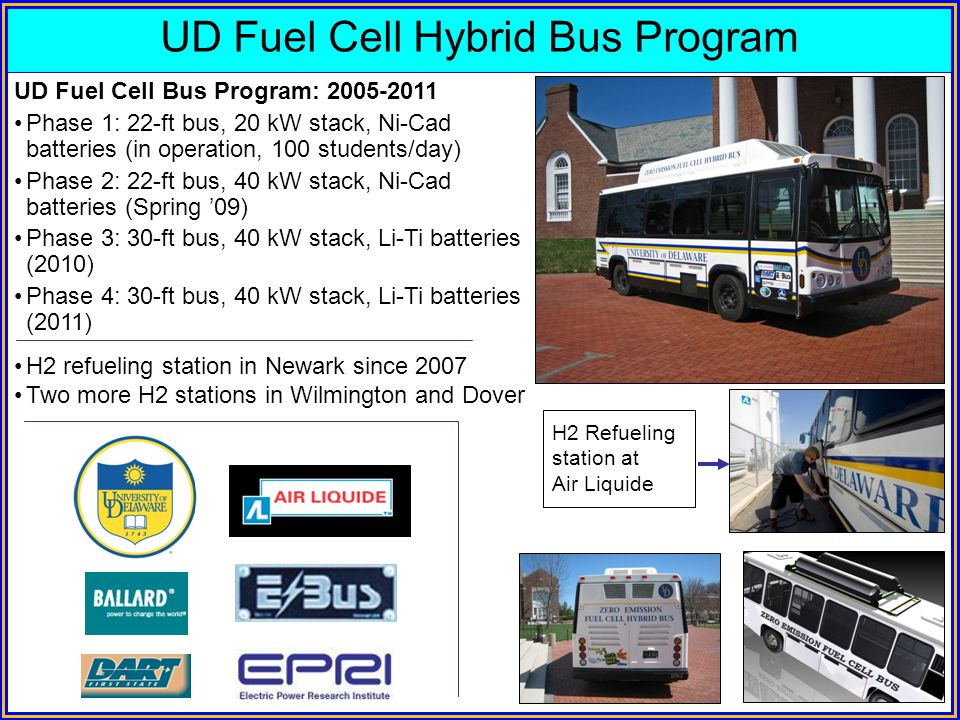 UD Fuel Cell Hybrid Bus Program