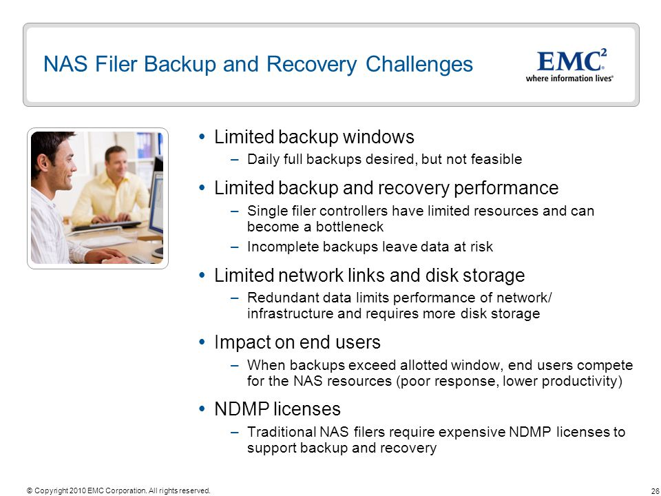 NAS Filer Backup and Recovery Challenges