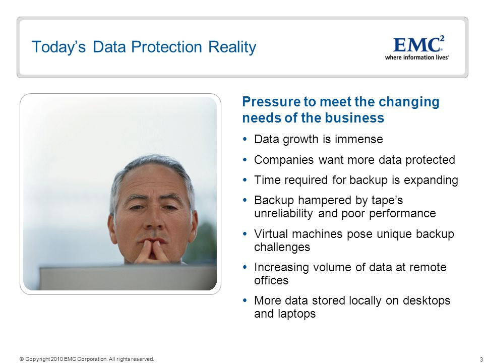 Today's Data Protection Reality