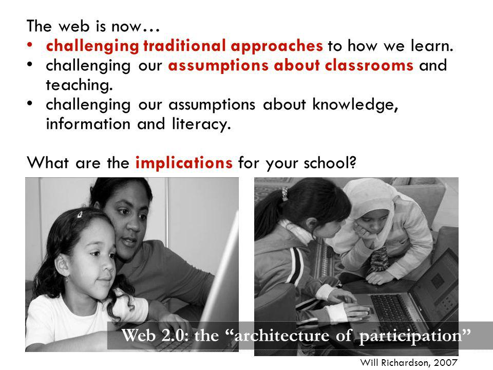 challenging traditional approaches to how we learn.