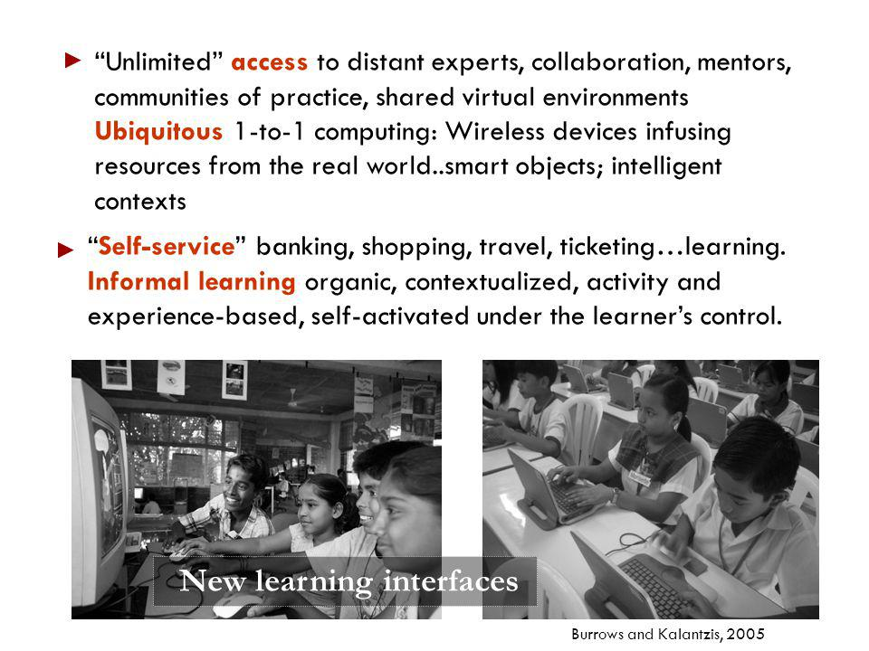 New learning interfaces
