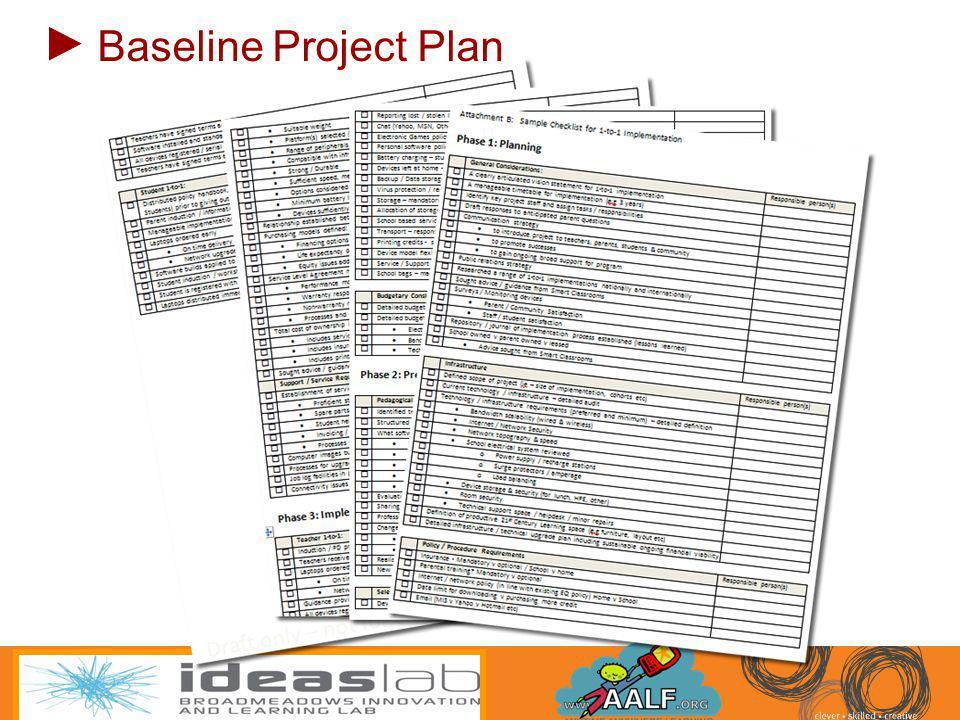 Baseline Project Plan