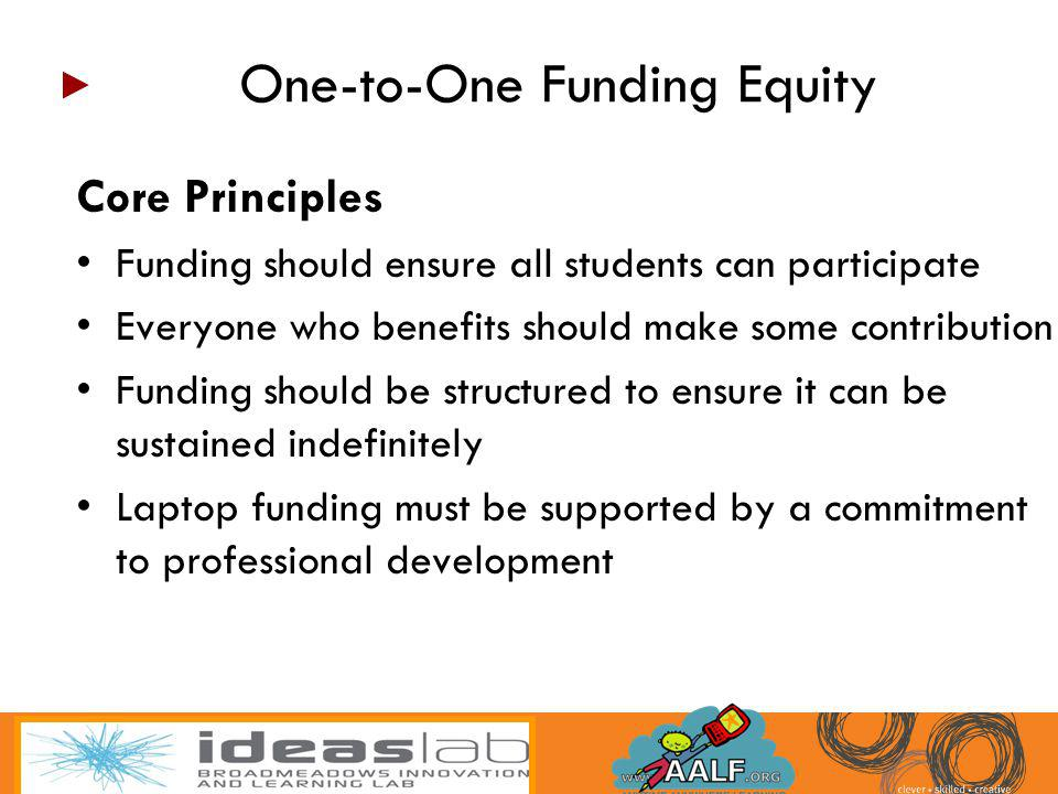 One-to-One Funding Equity