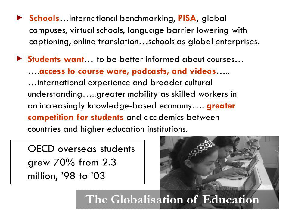 The Globalisation of Education