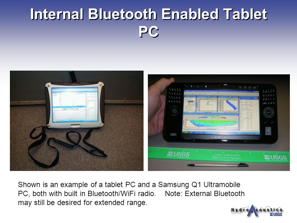 Internal Bluetooth Enabled Tablet PC