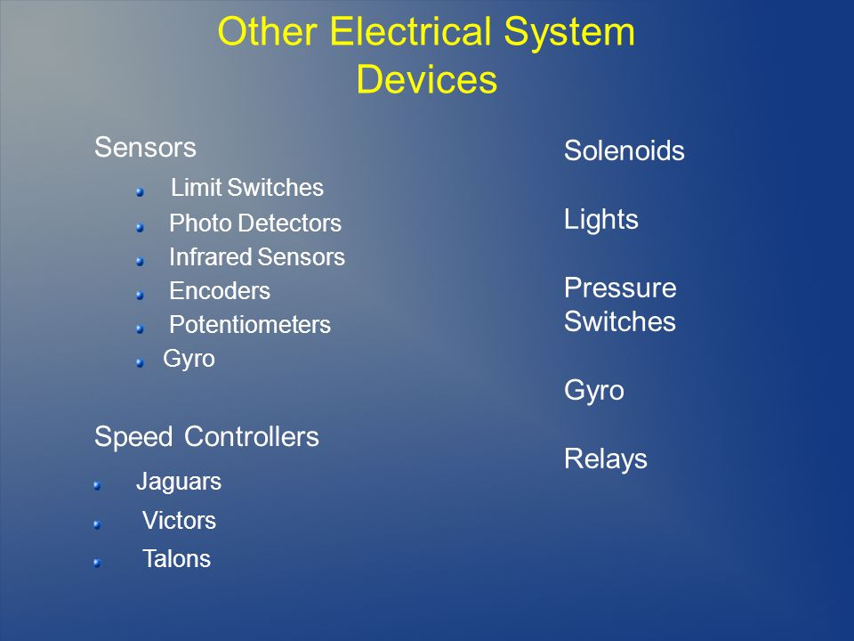 Other Electrical System