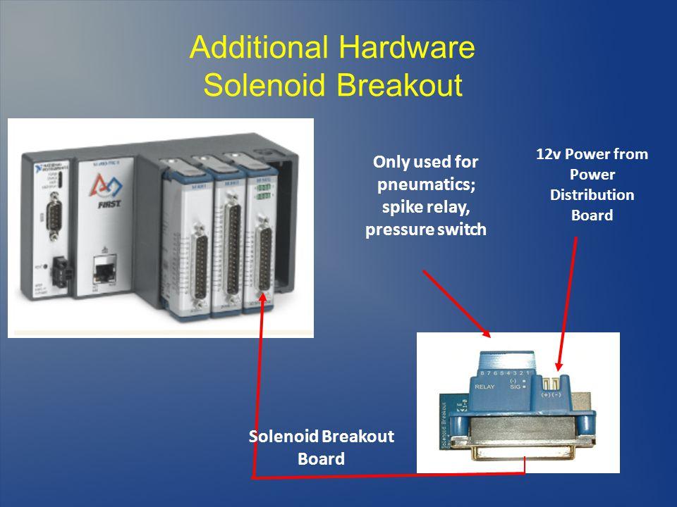 Additional Hardware Solenoid Breakout