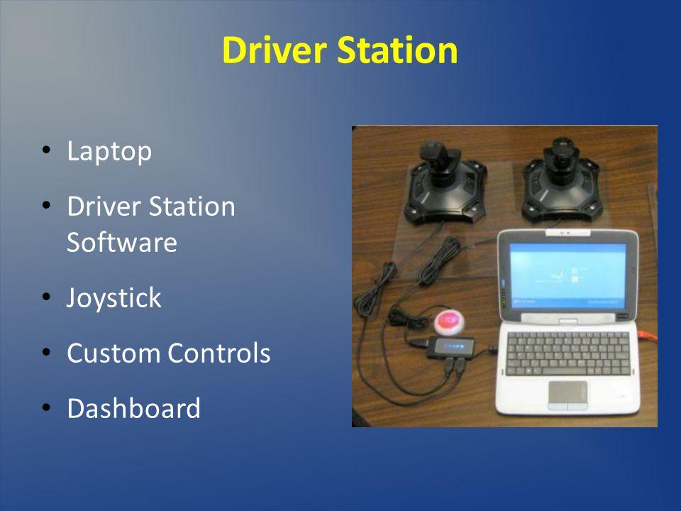Driver Station Laptop Driver Station Software Joystick Custom Controls