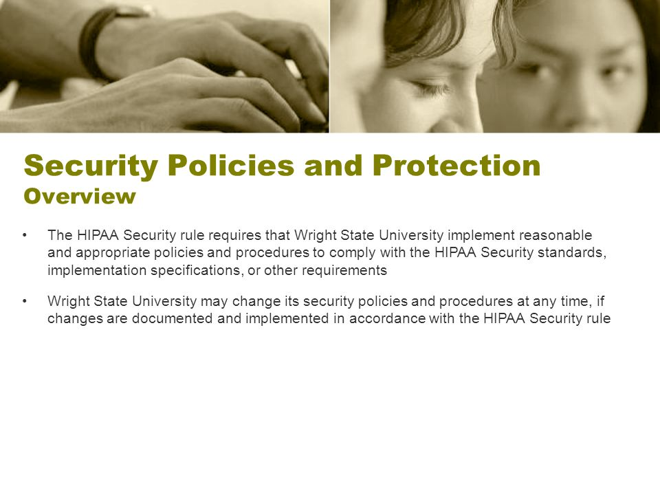 Security Policies and Protection Overview