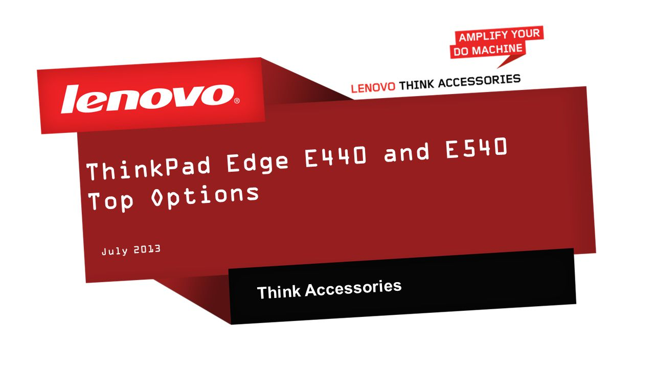 97daec1b247 ThinkPad Edge E440 and E540 Top Options - ppt video online download