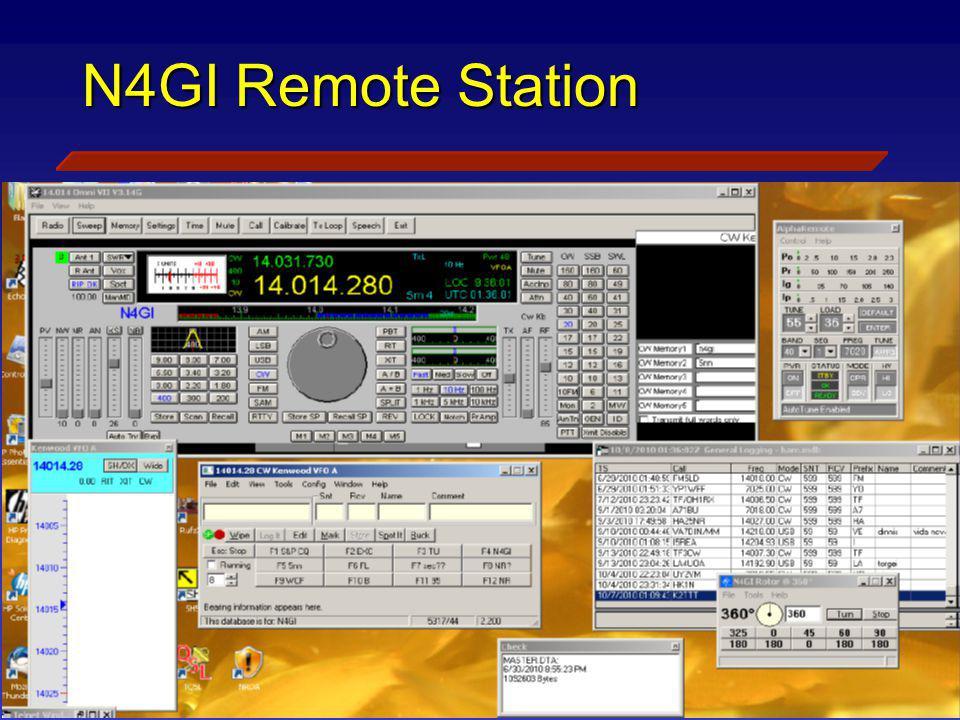 N4GI Remote Station Viao Laptop