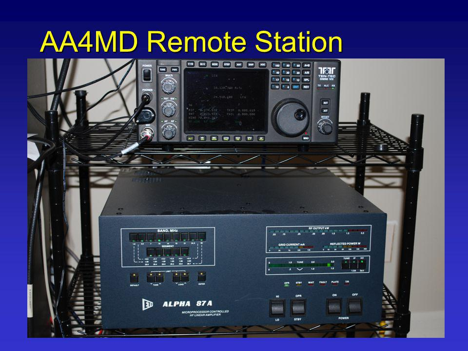 AA4MD Remote Station Remote Station