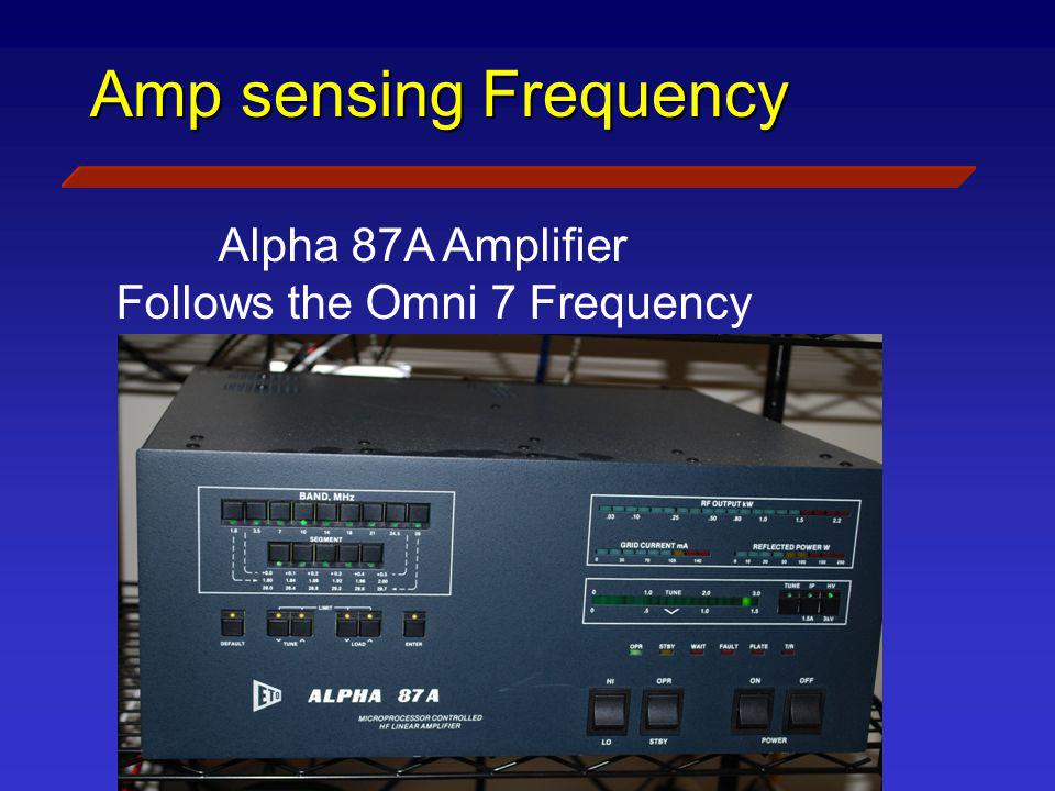 Follows the Omni 7 Frequency