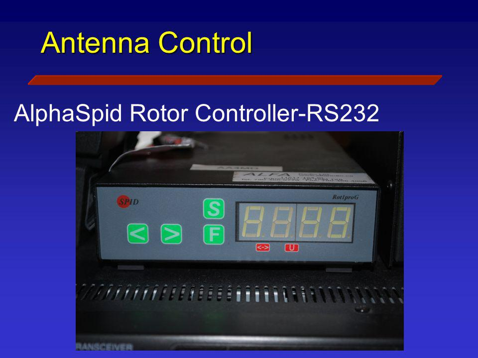 AlphaSpid Rotor Controller-RS232