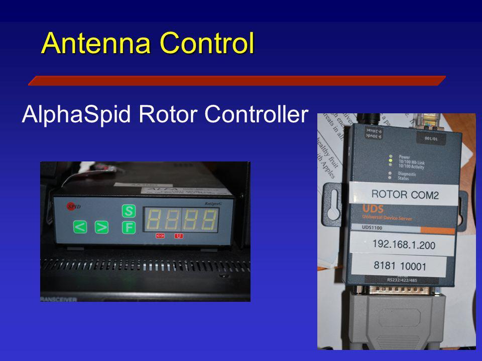 AlphaSpid Rotor Controller
