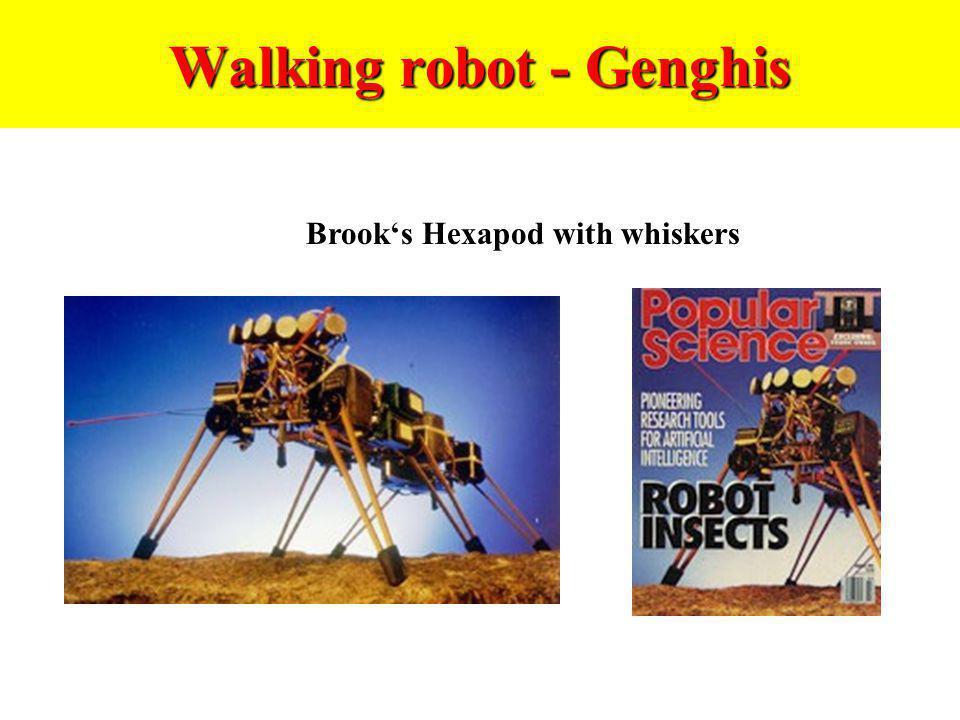 Walking robot - Genghis