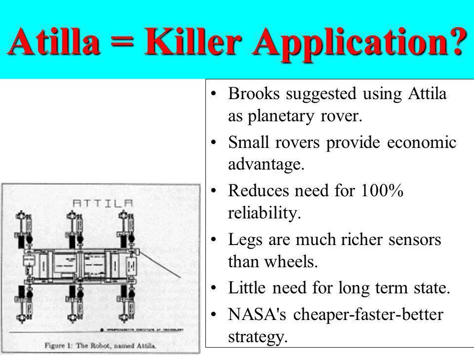 Atilla = Killer Application