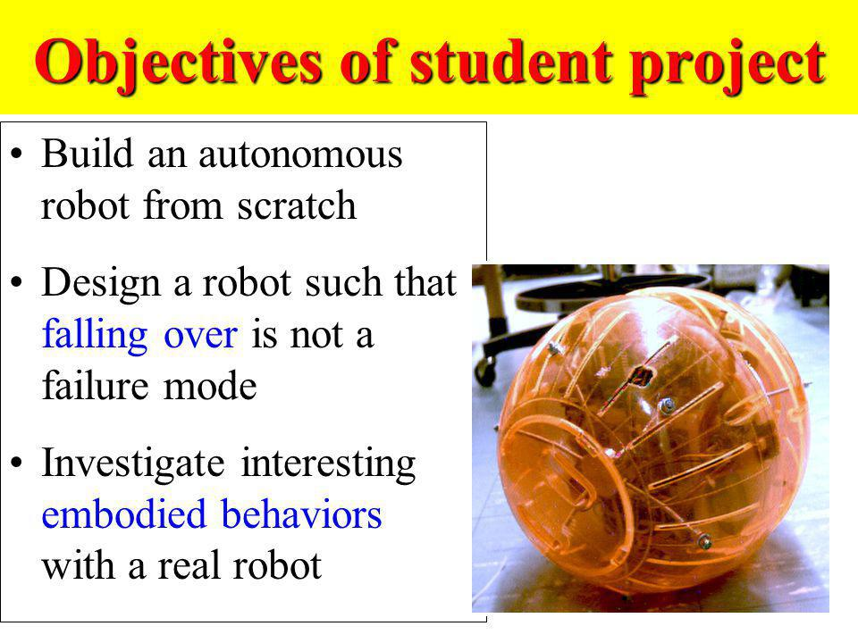 Objectives of student project