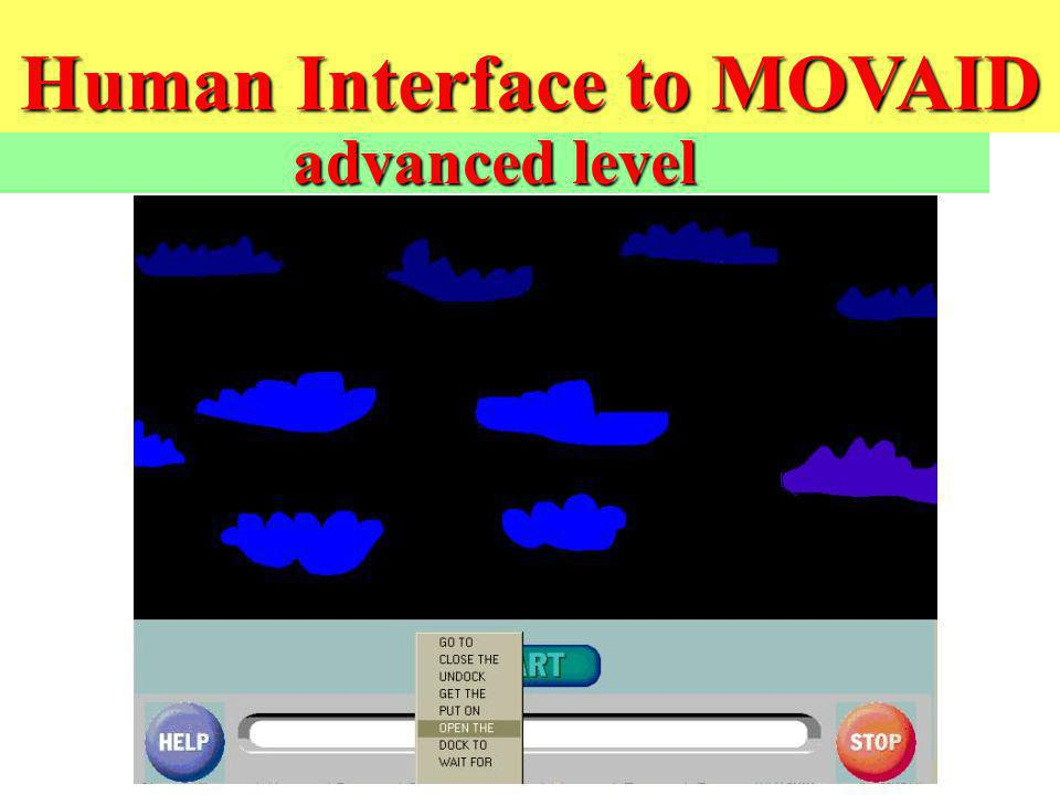 Human Interface to MOVAID