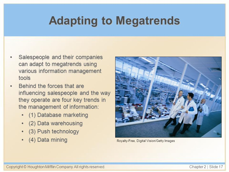Adapting to Megatrends