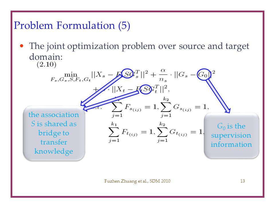 Problem Formulation (5)