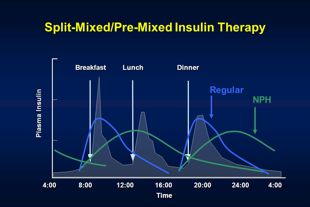 Split-Mixed/Pre-Mixed Insulin Therapy