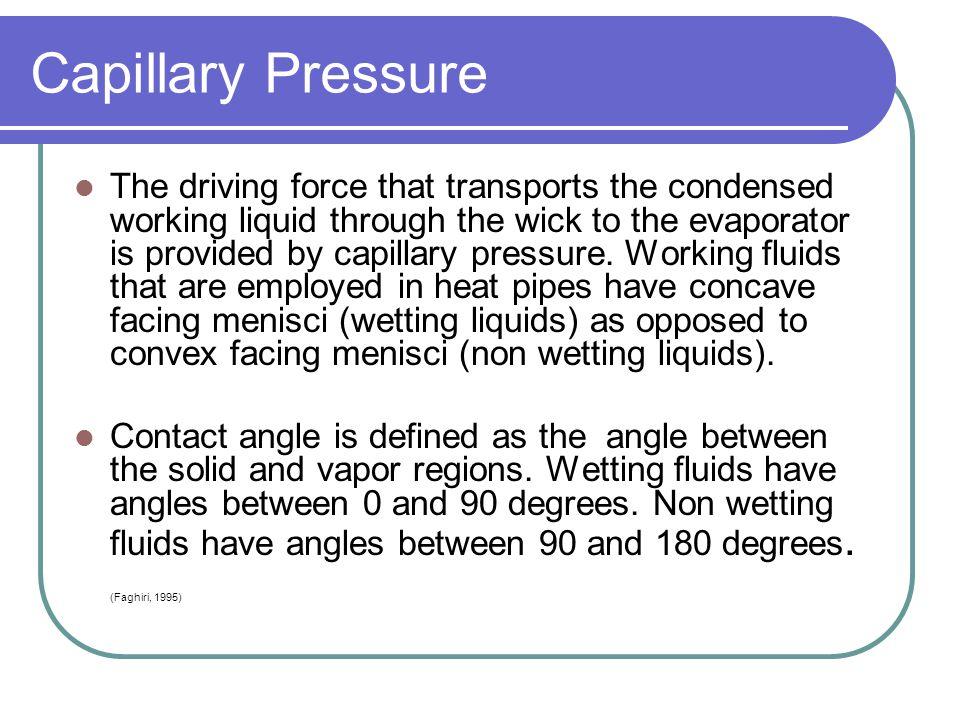 Capillary Pressure