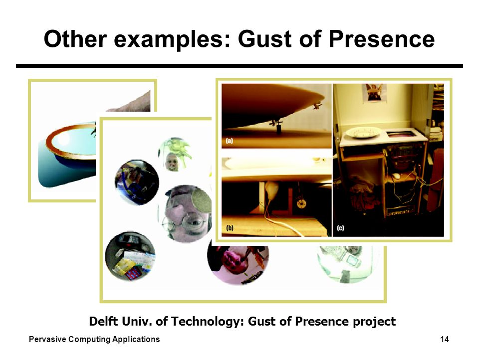 Other examples: Gust of Presence