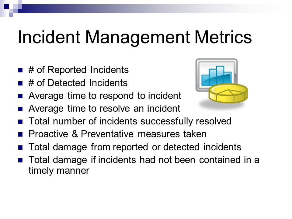Incident Management Metrics