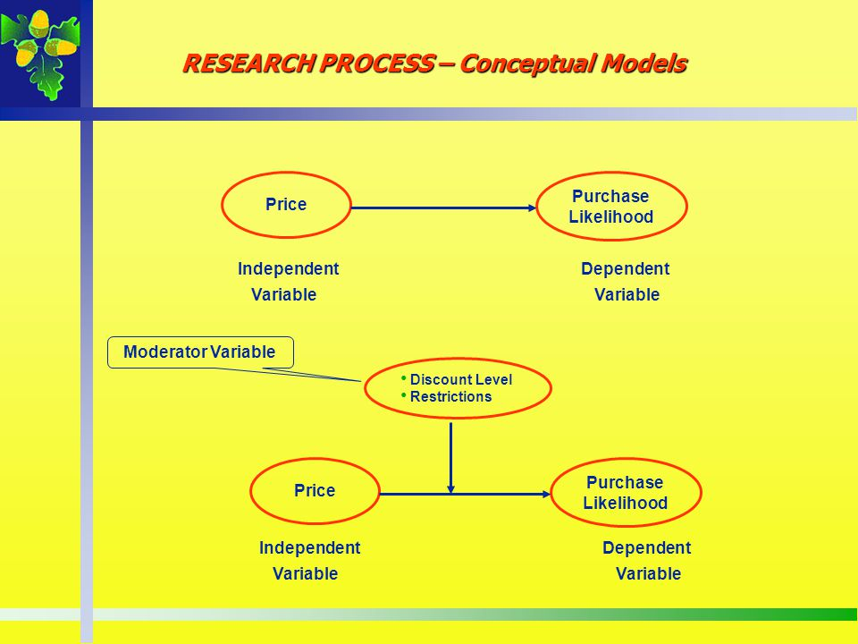 RESEARCH PROCESS – Conceptual Models