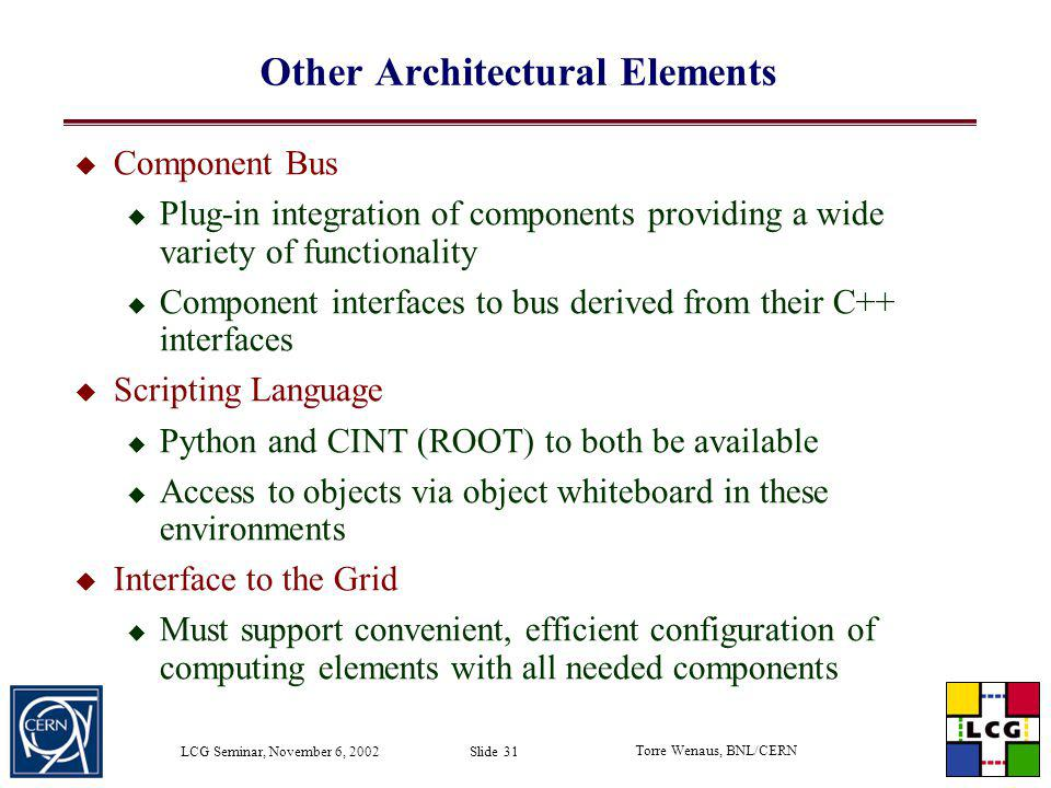 Other Architectural Elements